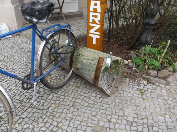 gabihelmchen_Fundstück: Fahrradständer 01